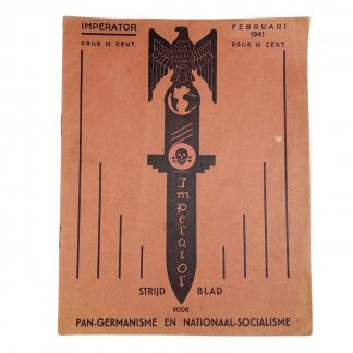 Original WWII Dutch collaboration magazine 'Imperator'