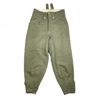 Original WWII German WH M43 'Keilhose' trousers