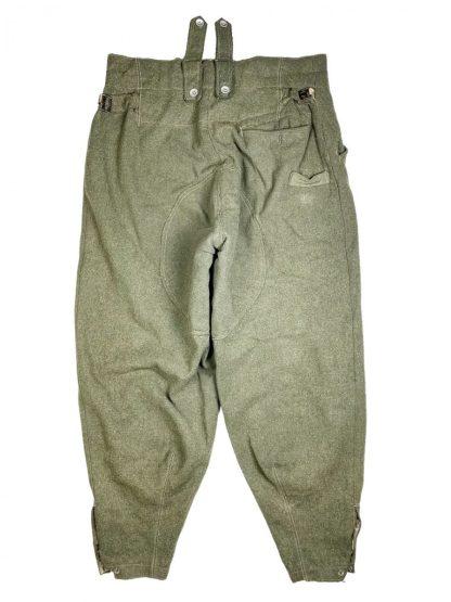 Original WWII German WH M43 'Keilhose' trousers