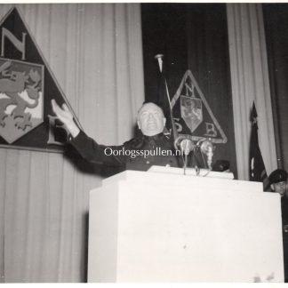 Original WWII Dutch NSB Anton Mussert photo Breda