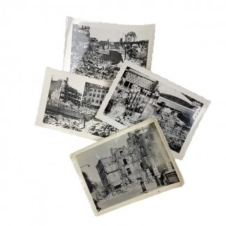 Original WWII Dutch photos Rotterdam May 1940