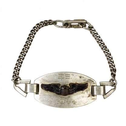 Original WWII USAAF silver bracelet