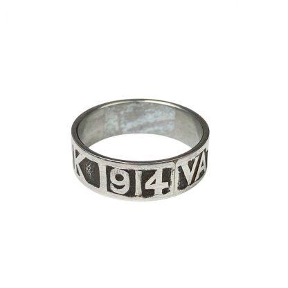 Original WWI German 'Vaterlands dank' 1914 ring