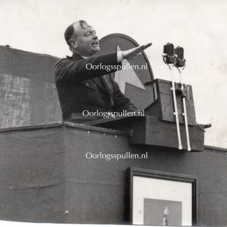 Original WWII Dutch NSB photo Anton Mussert