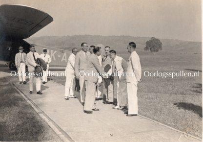 Original WWII Indian NSB photo Anton Mussert in Dutch-Indies