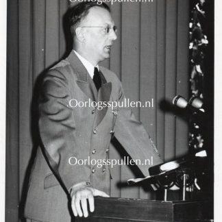 Original WWII German SS-Gruppenführer Arthur Seyss-Inquart photo