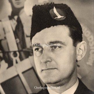 Original WWII Dutch Jeugdstorm portrait photo Van Geelkerken