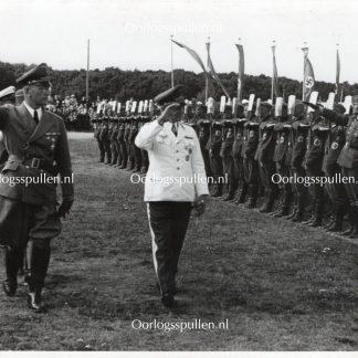 Original WWII German photo Den Haag – Seyss-Inquart & Christiansen