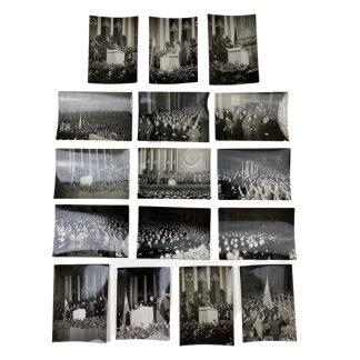 Original WWII Dutch SS photo grouping