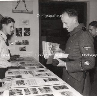 Original WWII Dutch Waffen-SS volunteer photo 'Ernst Voorhoeve'
