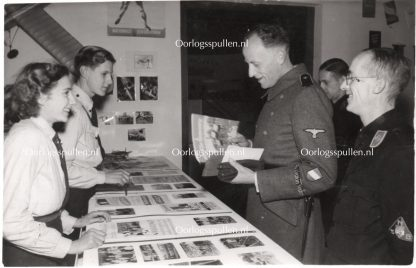 Original WWII Dutch Waffen-SS volunteer photo 'Ernst Voorhoeve'