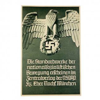 Original WWII German books leaflet