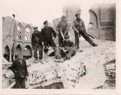 Original WWII Dutch photo Den Haag 1943