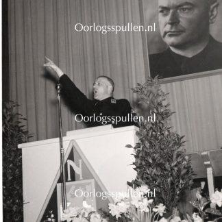 Original WWII Dutch NSB photo 'Jan Hollander'