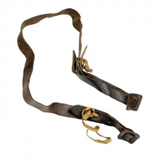 Original WWII Russian PPSH-41 leather sling