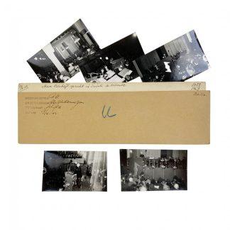 Original WWII Dutch NSB photo set – Max Blokzijl speech in Tivoli Utrecht