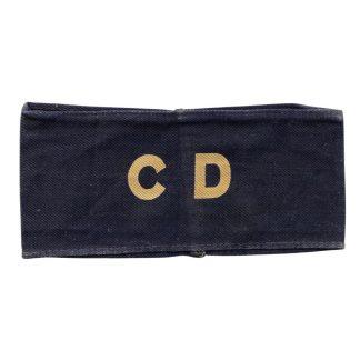Original WWII Dutch N.B.S. armband CD