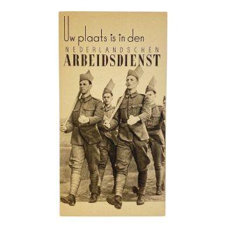 Original WWII Nederlandsche Arbeidsdienst booklet