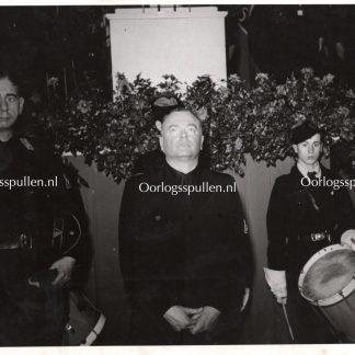 Original WWII Dutch NSB photo 'Anton Mussert in Amsterdam'