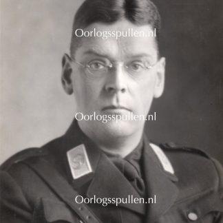 Original WWII Dutch NSB portrait photo Tobie Goedewaagen