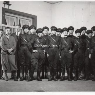 Original WWII Dutch NSB photo members in Hilversum