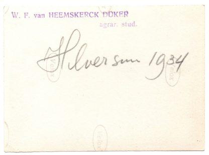 Original WWII Dutch NSB photo members in Hilversum