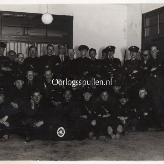 Original WWII Dutch NSB photo Motor W.A. in Wageningen