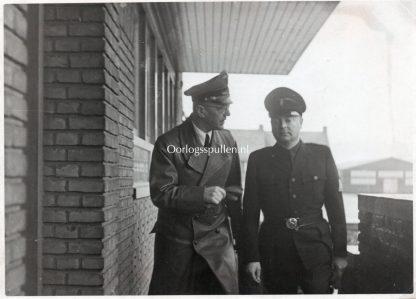 Original WWII Dutch NSB photo Anton Mussert & Seyss-Inquart