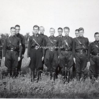 Original WWII Dutch NSB W.A. photo Wageningen