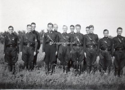 Original WWII Dutch NSB W.A. photo Wageningen