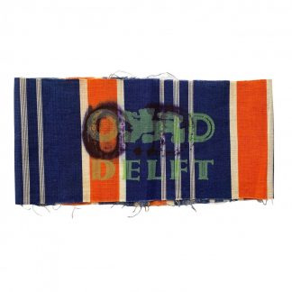Original WWII Dutch N.B.S. armband Orde Dienst Delft