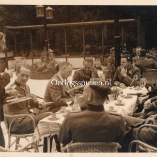 Original WWII German SS photo Kasteel Oud-Wassenaar