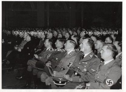 Original WWII Dutch SS photo 'Rauter & Schmidt in Amsterdam'