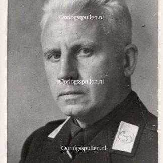 Original WWII Dutch NSB portrait photo Robert van Genechten