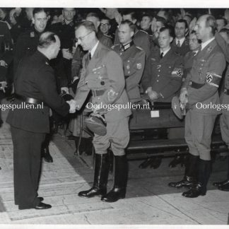 Original WWII Dutch NSB photo 'Seyss-Inquart & Anton Mussert'