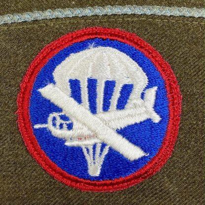 Original WWII US Airborne infantry garrison cap