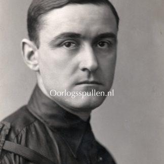 Original WWII Dutch NSB portrait photo Cornelis van Geelkerken