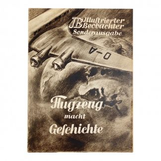 Original WWII German Illustrierte Beobachter Sonderausgabe
