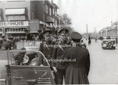 Original WWII Dutch NSB large photo Arie Zondervan