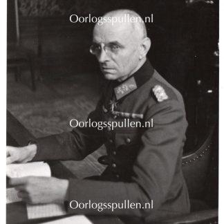 Original WWII German photo General von Falkenhausen
