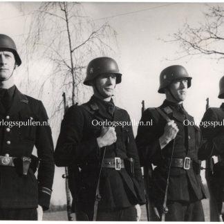 Original WWII Landwacht Nederland photo