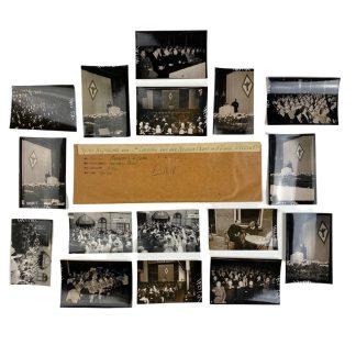Original WWII Dutch Medisch Front photo grouping – 3de Landdag Utrecht