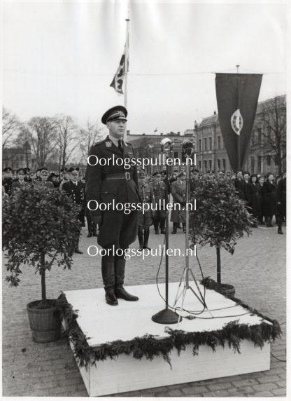 Original WWII Nederlandsche Arbeidsdienst – Commander De Bock