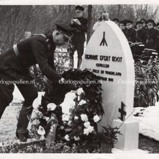Original WWII Dutch NSB photo – Funeral of Hendrik Koot