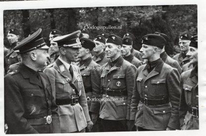 Original WWII Dutch NSKK volunteer photo Zeist