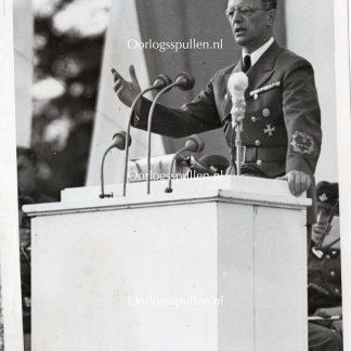 Original WWII Dutch SS photo - SS-Gruppenführer Arthur Seyss-Inquart