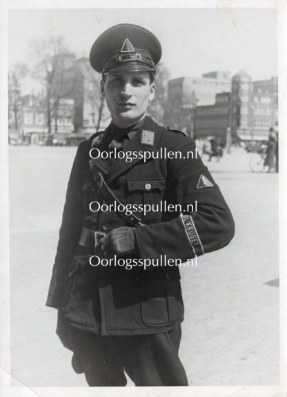 Original WWII Dutch NSB photo - Vendel Paul Kruger