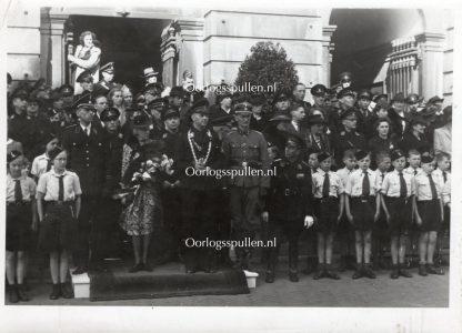 Original WWII Dutch Waffen-SS photo – Arie Zondervan