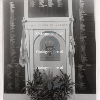 Original WWII Dutch SS photo – Memorial for the fallen Dutch SS volunteers
