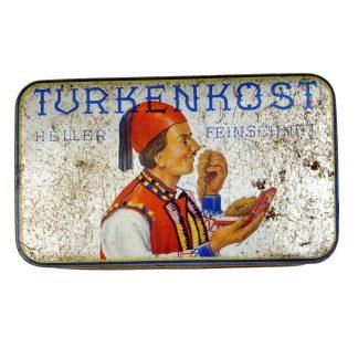 Original WWII German tobacco tin